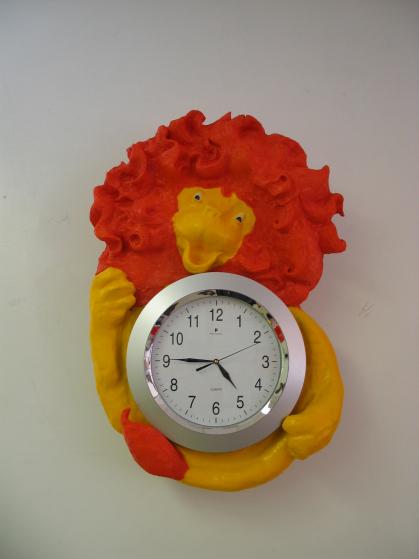Grace Hill Project - Lion Clock