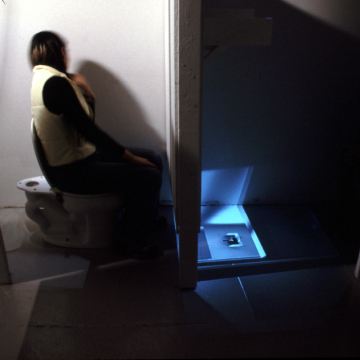 Community Bathroom for Security Purposes (with video feed)