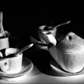 Styrofoam Tea Set